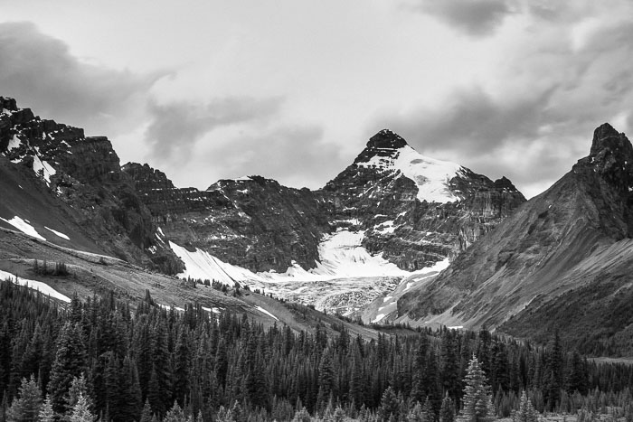 Along the Icefields Parkway - Banff Section