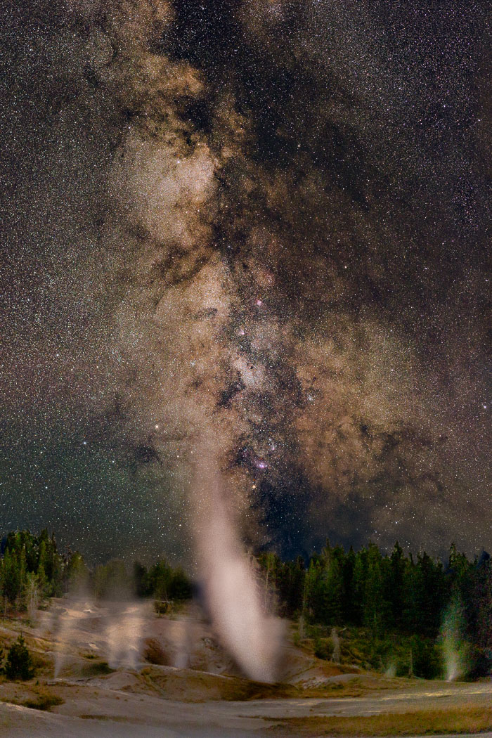 Yellowstone Astroscapes