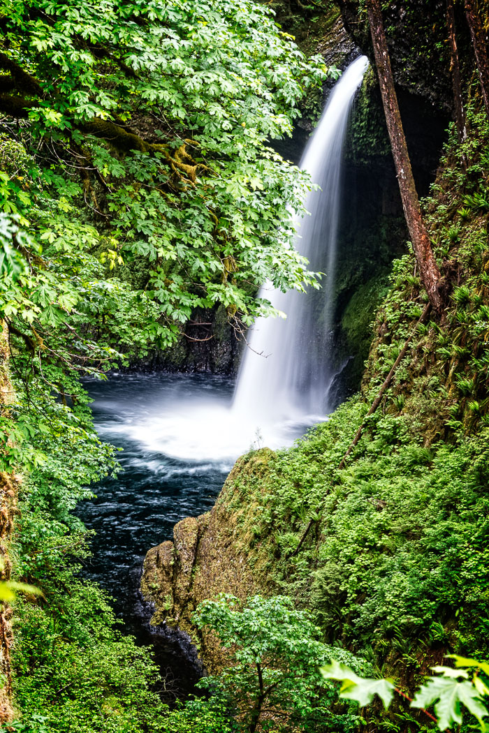 Columbia Gorge Falls Area