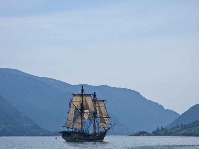 Tall Ships in Hood RIver